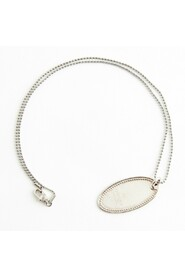Oval Plate Necklace