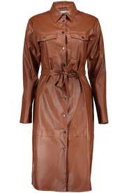 Dress fake leather