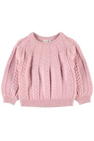 Mini Nmfnamie Ls Knit Knit