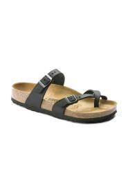 Svart Birkenstock Mayari sandal normal lest i skinn