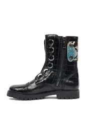 croco patch mili boots