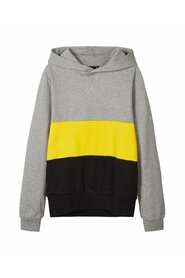 Sweatshirt colour block