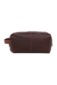 Brian Dark Brown Catania Wash bag