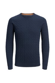 Knitted Pullover Textured