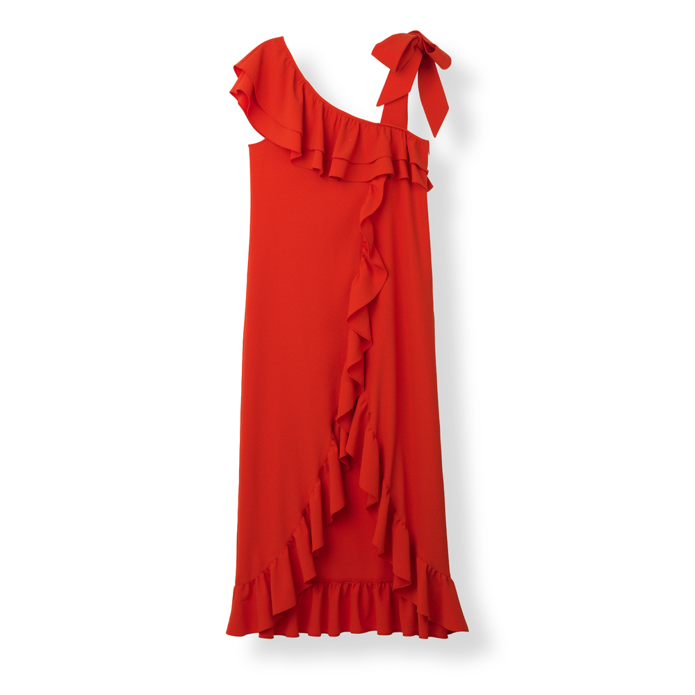 Maxi Dress Apple Red, f2553-34