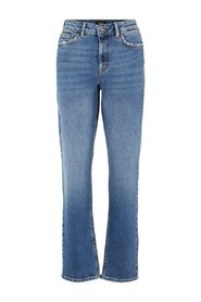 Straight fit jeans VMSARA Relaxte Normal Waist