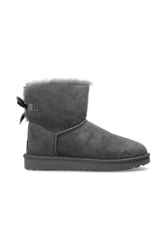 W Mini Bailey Bow II' suede snow boots
