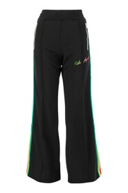 Flared track trousers
