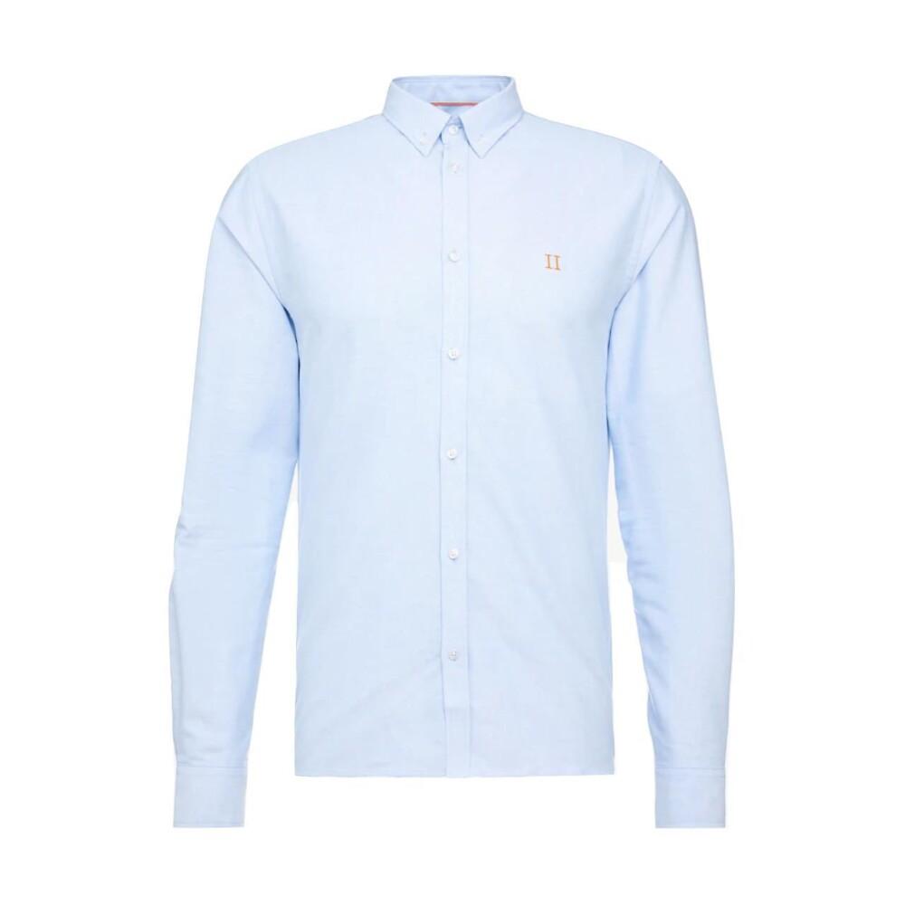 Blå Les Deux Oliver Oxford Shirt Skjorte