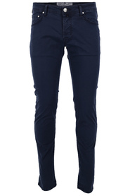 Marineblå Jacob Cohen Five Pocket Chinos