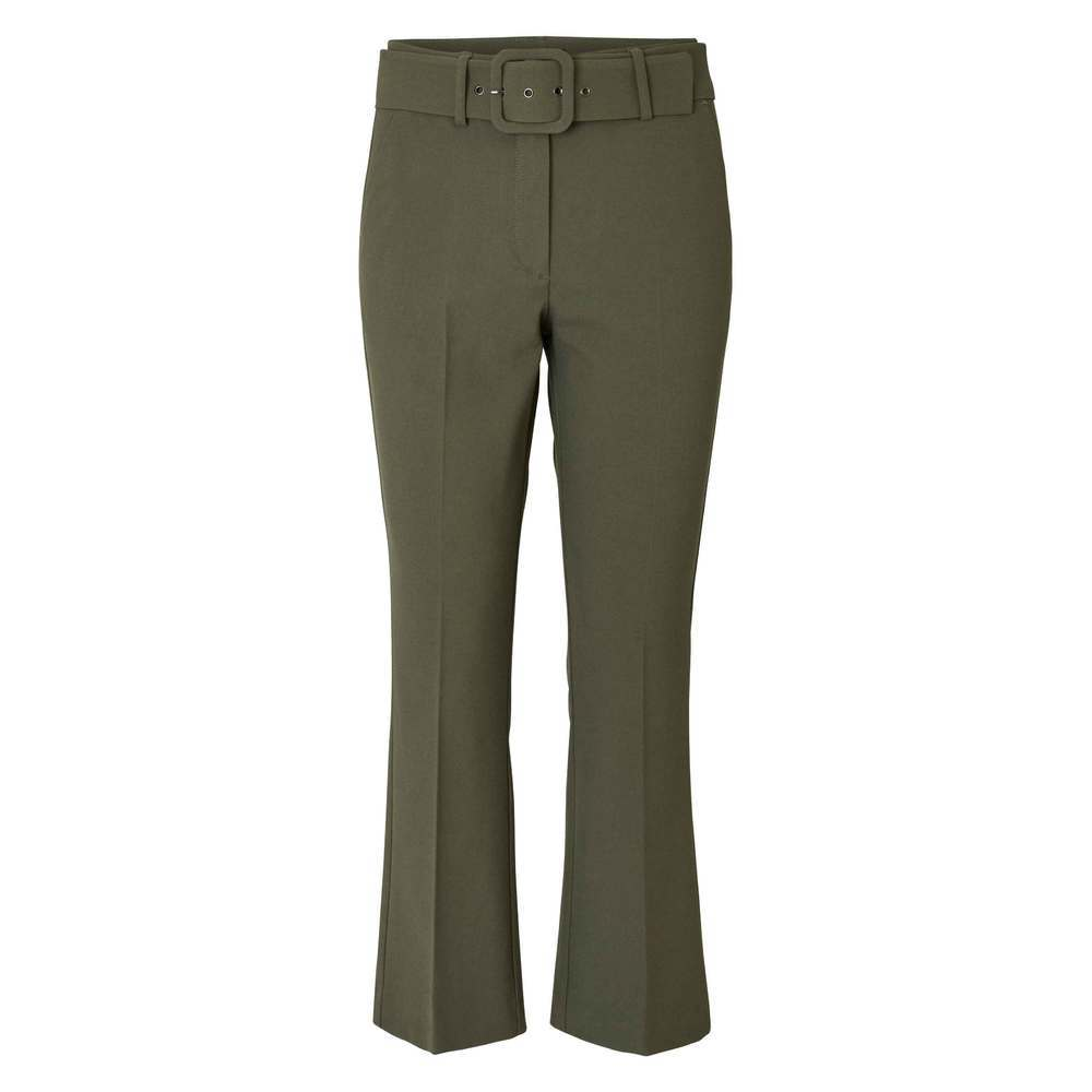 Clara 285 Crop Belted Bukse