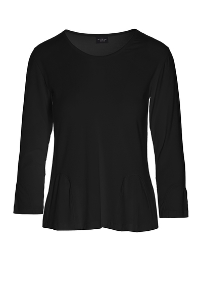 7e5669ae61 ATLAS JERSEY BLOUSE WITH V-NECK