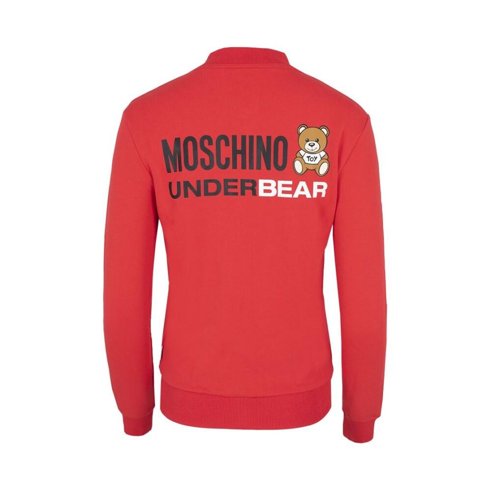 Red Hoodie   Moschino   Hoodies  sweatvesten   Heren winter kleren