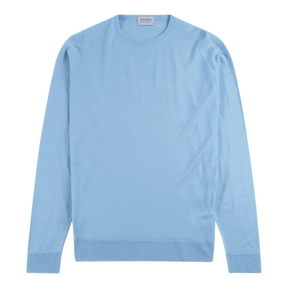 Lundy Pullover CN LS Light Blue