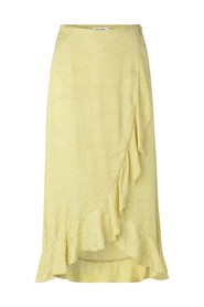 Limon l wrap skirt