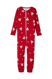 Nightsuit christmas print zip