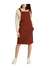 Bell corduroy jumpsuit dress