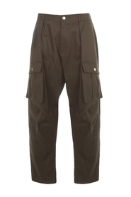 LOW CROTCH CASUAL PANTS W/ POCKETS