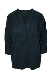 Pleated V-Neck Top -Pre Owned Condition Very Good