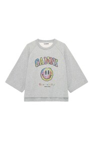 HAVE A NICE DAY SMILEY GRAPHIC PULLOVER