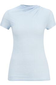 leicht transparentes Shirt mit Kaschmir