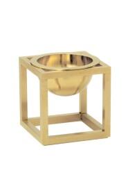 Kubus Bowl Mini - Messing