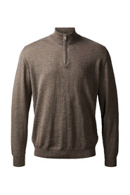 Clipper Merino 1/4 Zip W / Strib
