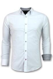 italiaanse Blouse - Slim Fit Overhemden - 3034