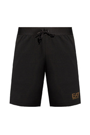 Sports shorts with logo