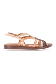Anais sandal in woven leather