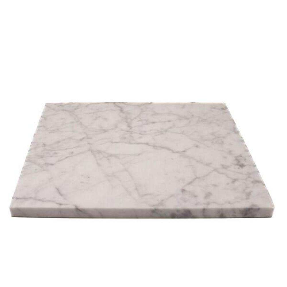 White Marble Plate L