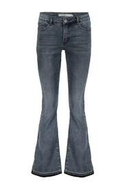 11544-10 jeans flare pijp