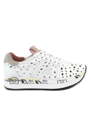 Conny perforated sneakers