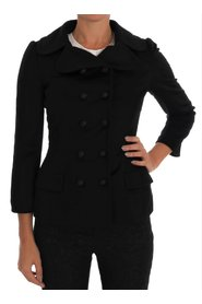 Wool Stretch Trench Jacket