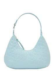 Baby Amber Bag in Croco Embossed Leather