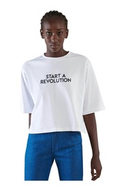 T-shirt over size