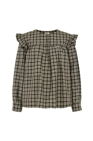 Helen Checked Blouse
