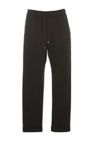 PANTS W/COULISSE AND LAPEL