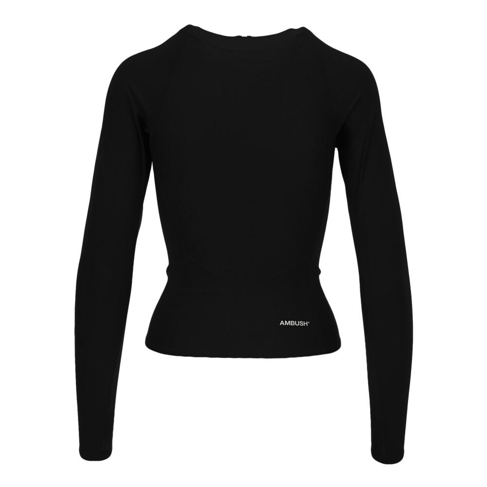 AMBUSH Black Women's Clothing Tops BMAD001F20FAB001 AMBUSH