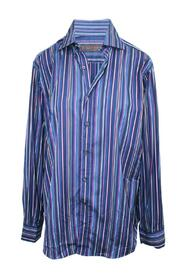 Print Stripes Shirt -Pre Owned Condition Very Good