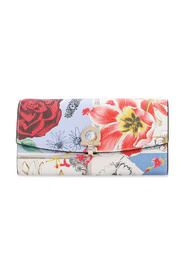 Wallet with floral print