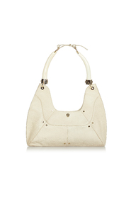 Pre-owned Mombasa Double Horn Leather Shoulder Bag