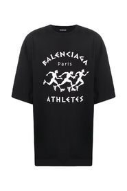 Athletes Print T-Shirt