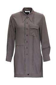 Long Shirt with Lace inserts