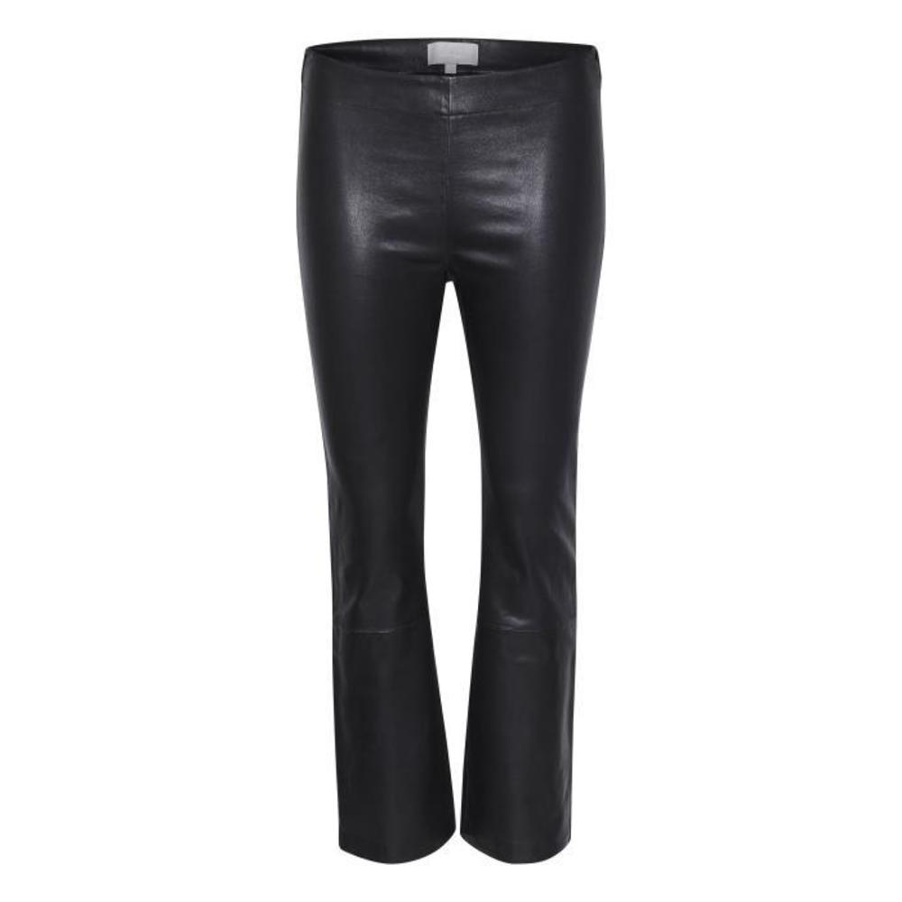 Cedar pants black leather - InWear