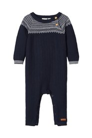 One-piece suit knitted cotton