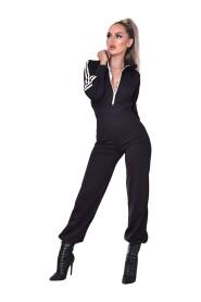 Tanya Hooded Loungewear Jumpsuit