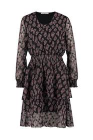 caire print dress