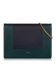 Brukte Frame Leather Wallet On Chain
