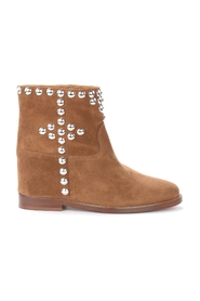 ankle boots with maxi round studs